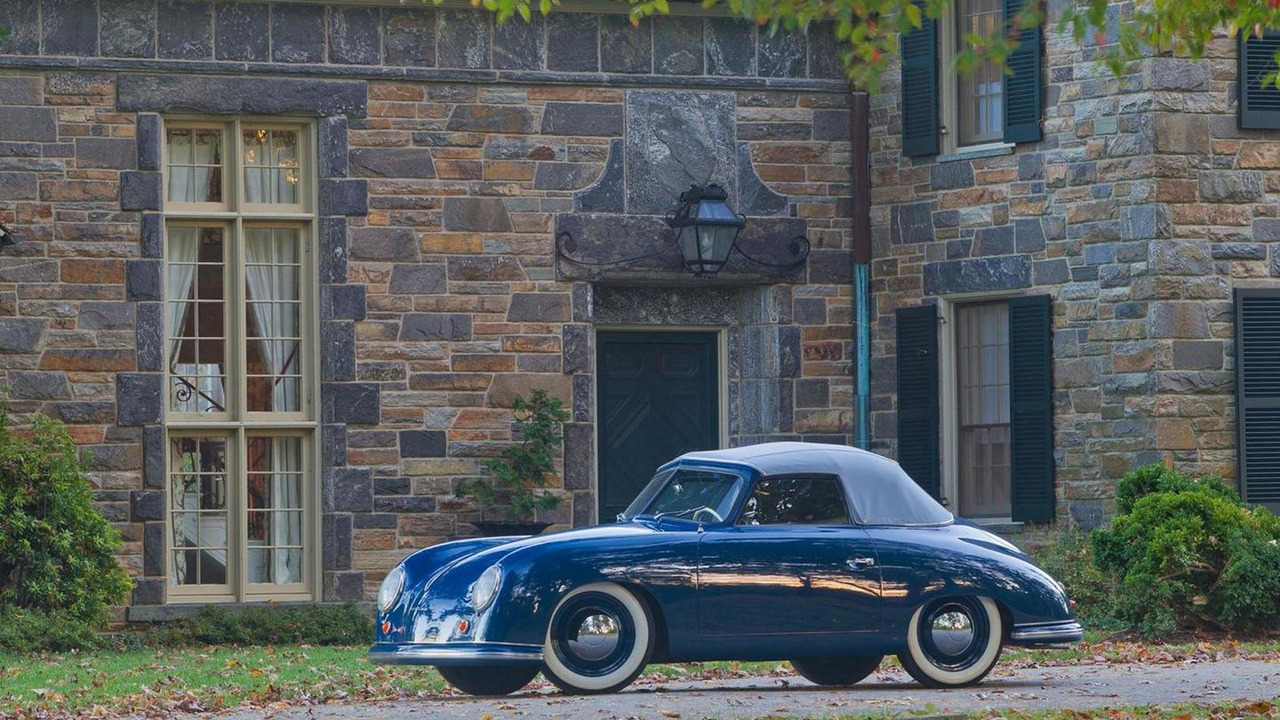 1950 Porsche 356 Cabriolet owned by Richard Brumme of Annapolis, MD, 1600, 22.10.2010