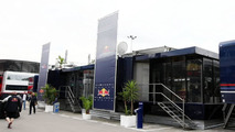 Red Bull hospitality motorhome, Spanish Grand Prix, 06.05.2010 Barcelona, Spain
