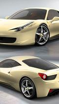 Ferrari 458 Italia - Giallo Solare
