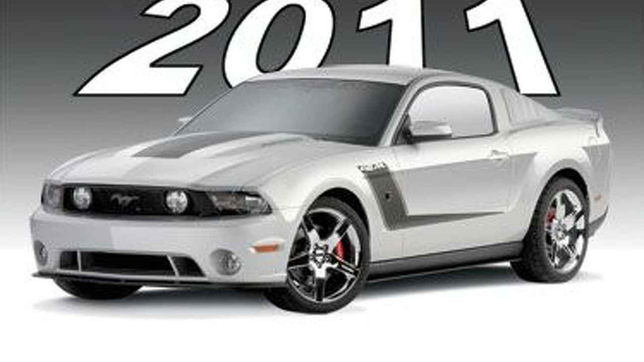 Roush 2011 Ford Mustang teaser - 377