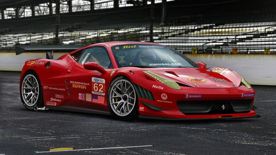 Rendered: Ferrari 458 GT looks seriously hot