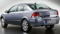 New Opel Astra Four-Door Sedan