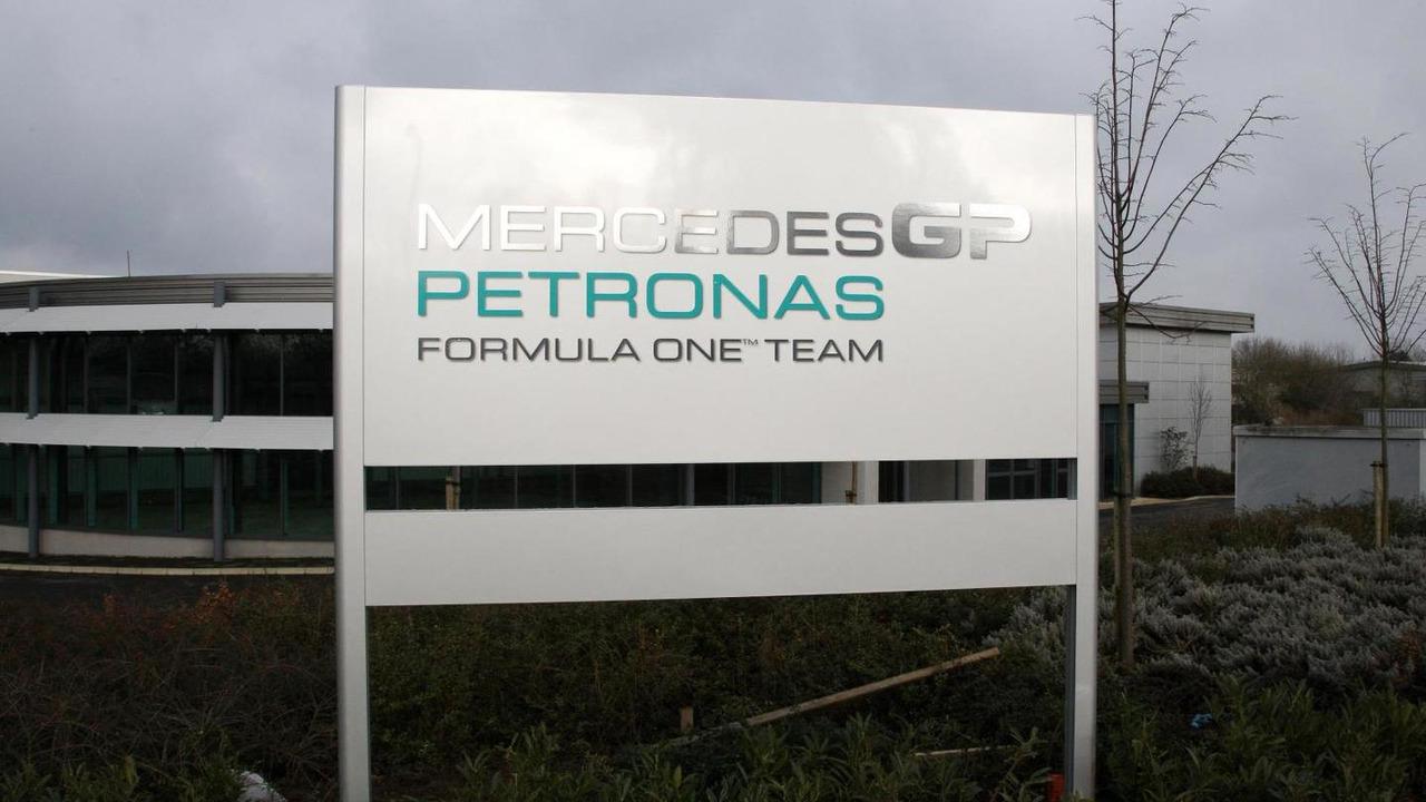 Mercedes AMG factory in Brackley, England / XPB