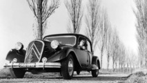 Citroen celebrates the 80th anniversary of the Traction Avant