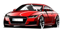 Audi previews 2015 TT in official design sketches