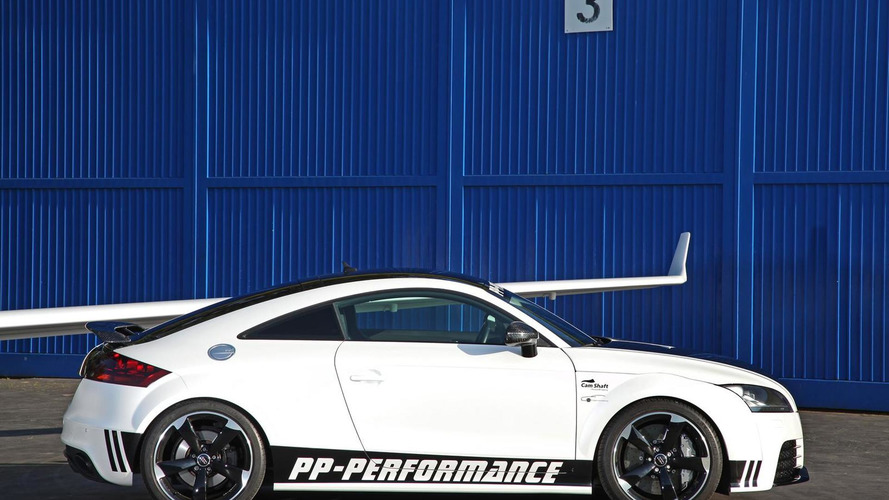 Audi TT RS Black & White Edition launched by PP-Performance and Cam Shaft