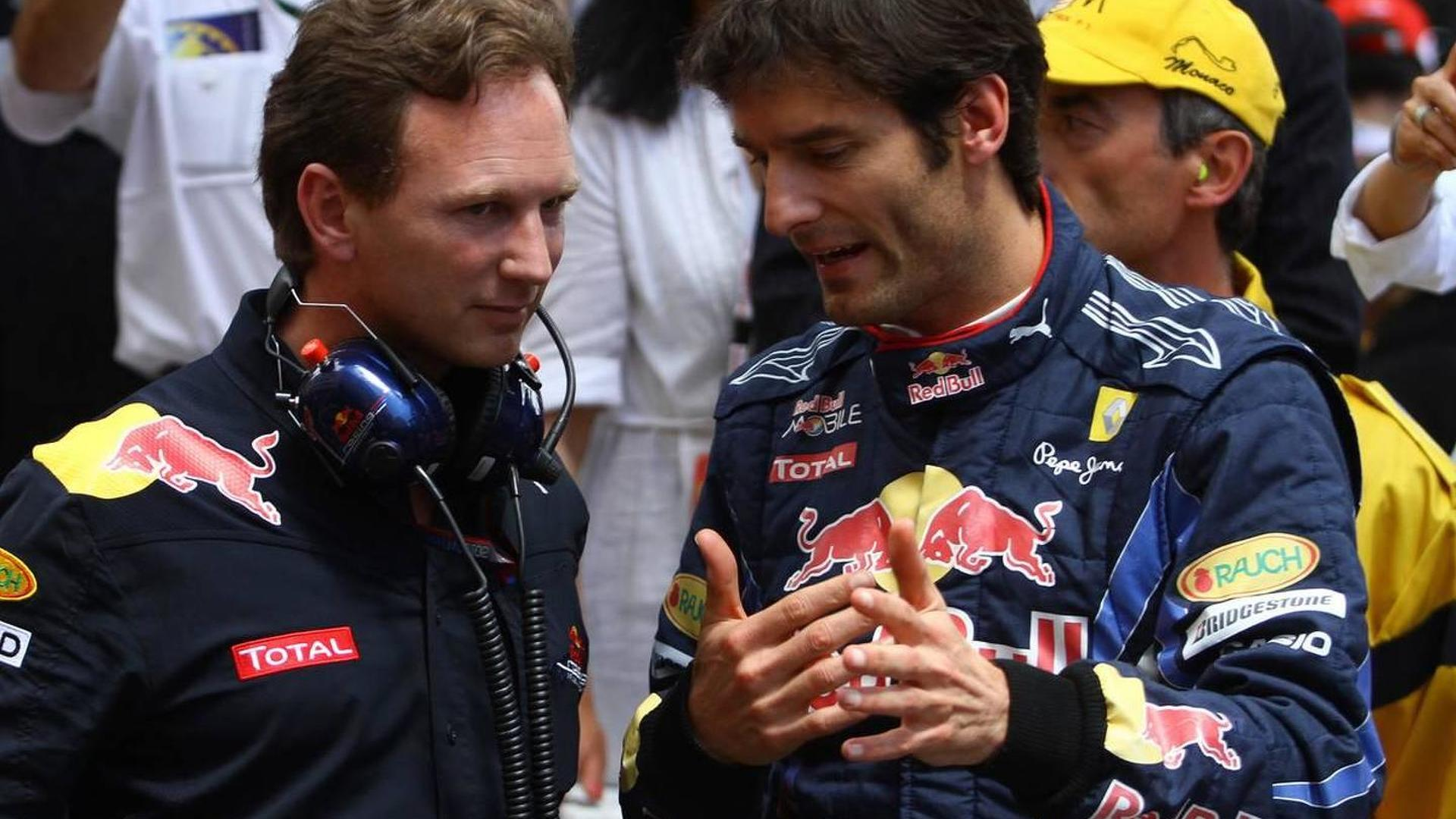Horner upset Webber kept shoulder injury secret