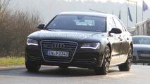 2012 Audi S8 First Spy Photos at Nurburgring 14.04.2010