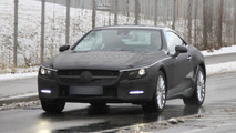 2012 Mercedes Benz SL spied with less camo