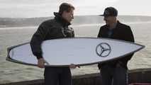 Mercedes-Benz develops surfboard for Garrett McNamara [video]