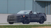 2015 Ford Mustang Convertible and interior with new details spied for first time