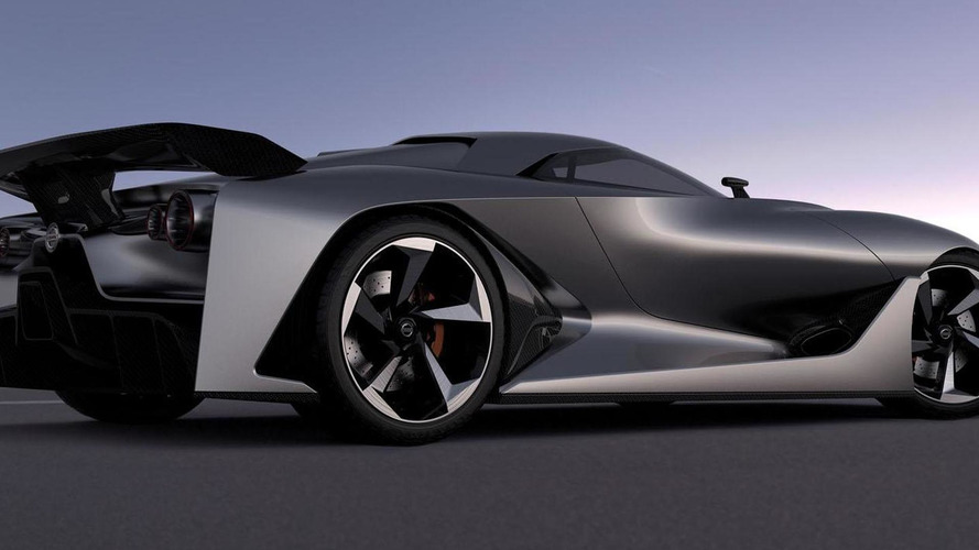 Nissan Concept 2020 Vision Gran Turismo unveiled at Goodwood [video]