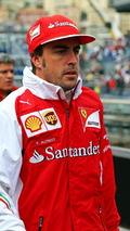Alonso 'dark and moody' at Ferrari - Montezemolo
