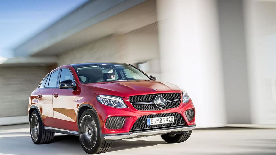 Mercedes GLE Coupe goes into production