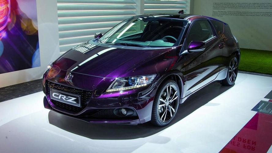 2013 Honda CR-Z receives power boost