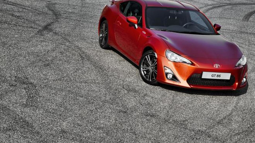 Toyota GT 86 priced for UK