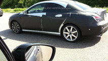 WCF reader spots Mercedes CLA sedan in traffic