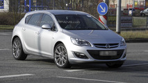 2013 Opel Astra facelift spied undisguised