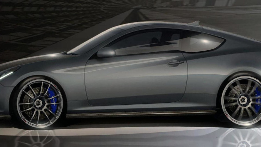 Hyundai Genesis Hurricane SC coupe teased for SEMA