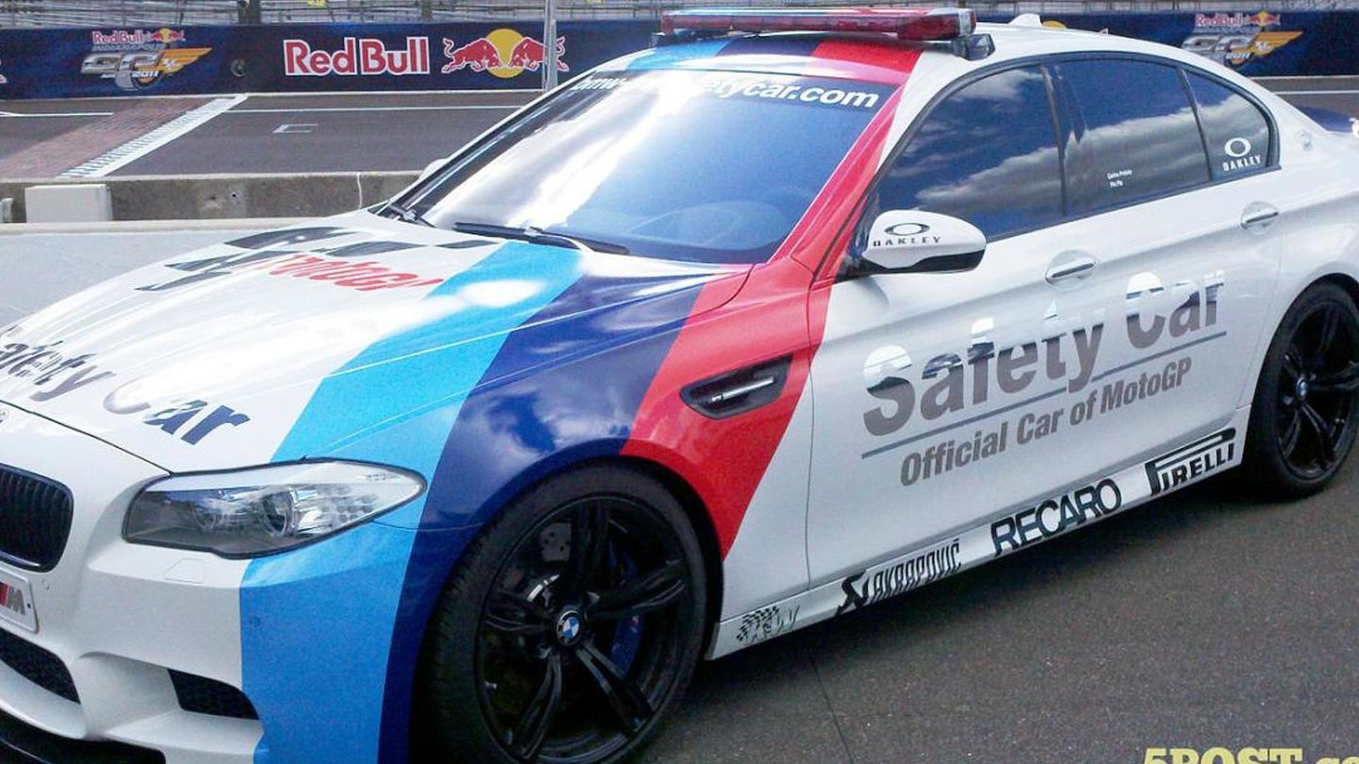 BMW M5 safety car unveiled