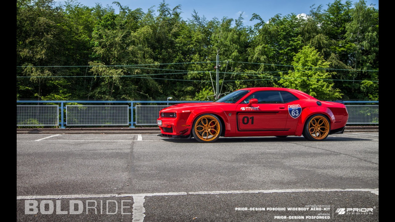 Prior Design Dodge Challenger Hellcat PD900HC Widebody