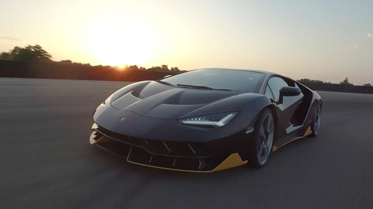 Lamborghini Centenario Video