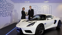 Detroit Electric hands over first production SP:01
