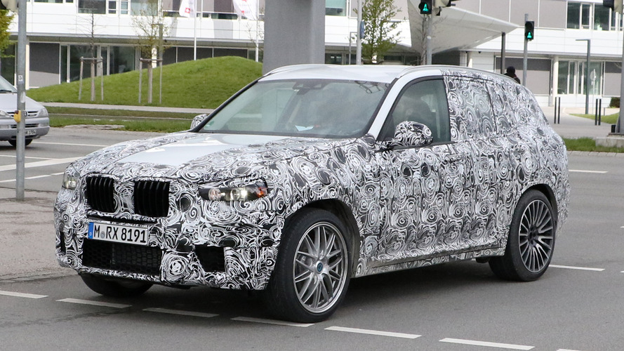 2018 BMW X3 M spied in Germany