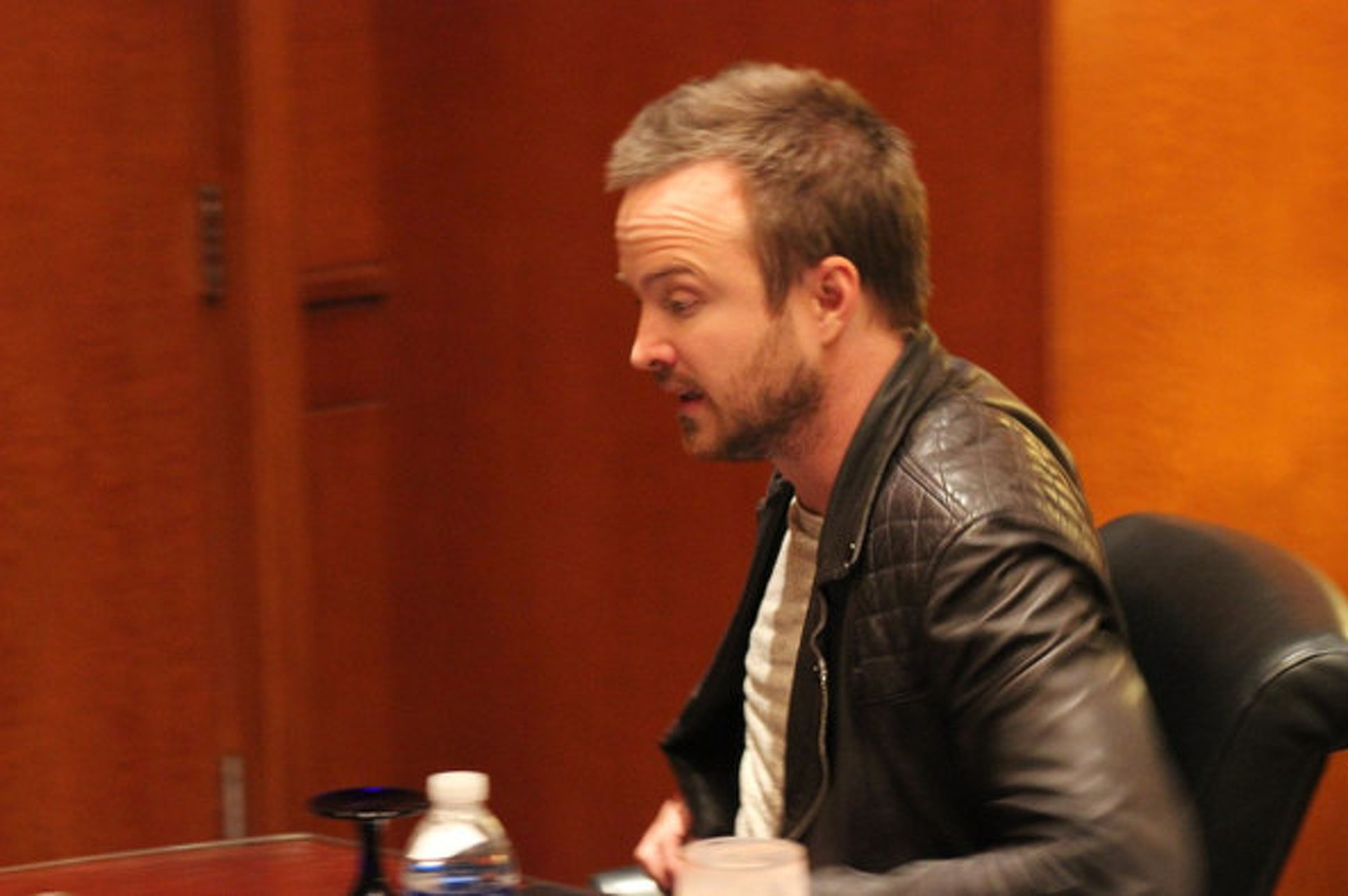 "Aaron Paul Talks Upcoming ""Need for Speed"" Film, Proves He's a Legit Car Guy"