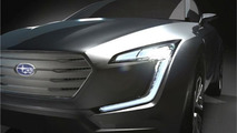 Subaru VIZIV crossover concept to arrive in Geneva next month