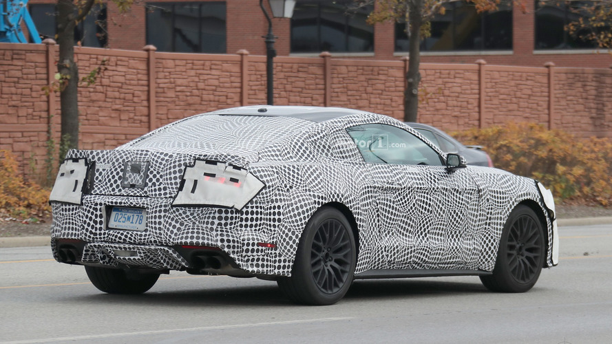 2018 Mustang GT spied showing off active quad exhaust