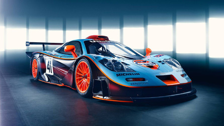 Blast from the past: McLaren revisits the stunning F1 GTR Longtail