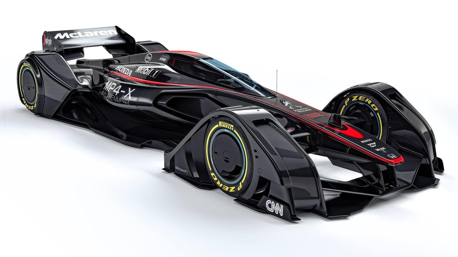 McLaren MP4-X concept previews the future of motorsport