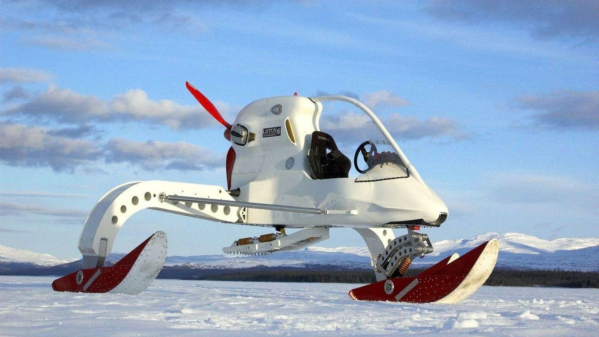 Lotus Creates Special Ice Vehicle