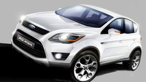 Ford Prepping Kuga Coupe?