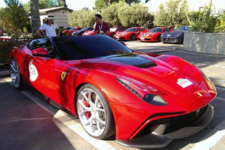 Onlookers Can't Get Enough of the $4.2 Million F12 TRS [w/Video]