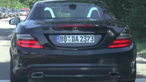 2016 Mercedes-Benz SLC spied in motion [video]