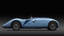 Bugatti Typ 57G Tank Siegerauto in Le Mans 1937 16.8.2013