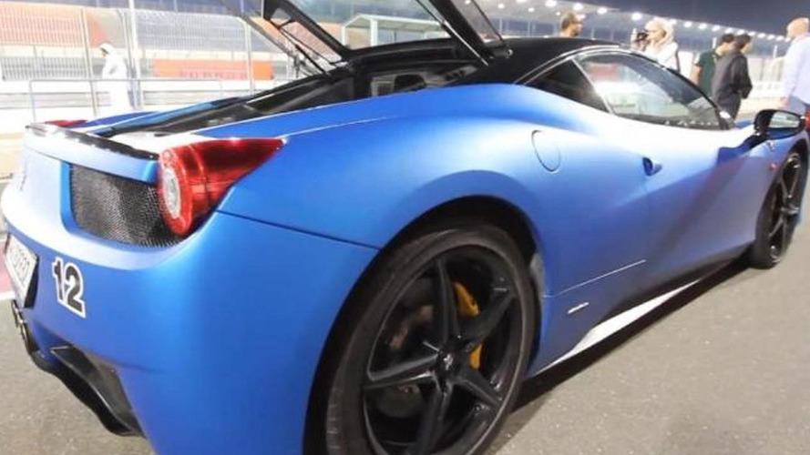 Qatari Ferrari track day video will leave you speechless