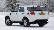 Ford Ranger SUV spy photo