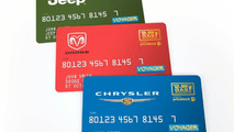 three Let's Refuel America Price Guarantee credit cards