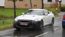 Nissan GT-R prototype spied inside and out