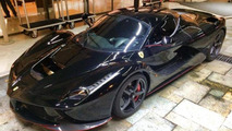 Black LaFerrari rumored to belong to Felipe Massa spotted in Monaco