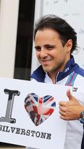 Felipe Massa, Williams loves Silverstone