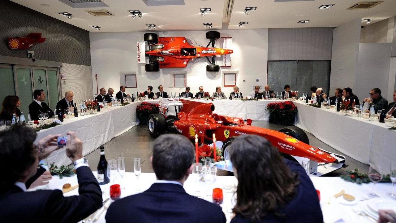 Luca di Montezemolo (ITA), Scuderia Ferrari, FIAT Chairman and President of Ferrari at Fiorano dinner with the Italian press 14.12.2010