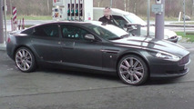 Aston Martin Rapide Caught Undisguised