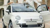 Massa Receives Unique Fiat 500