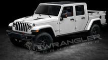 Picape derivada do novo Jeep Wrangler poderá se chamar Scrambler