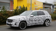 2016 Mercedes-Benz GLC 63 AMG spy photo