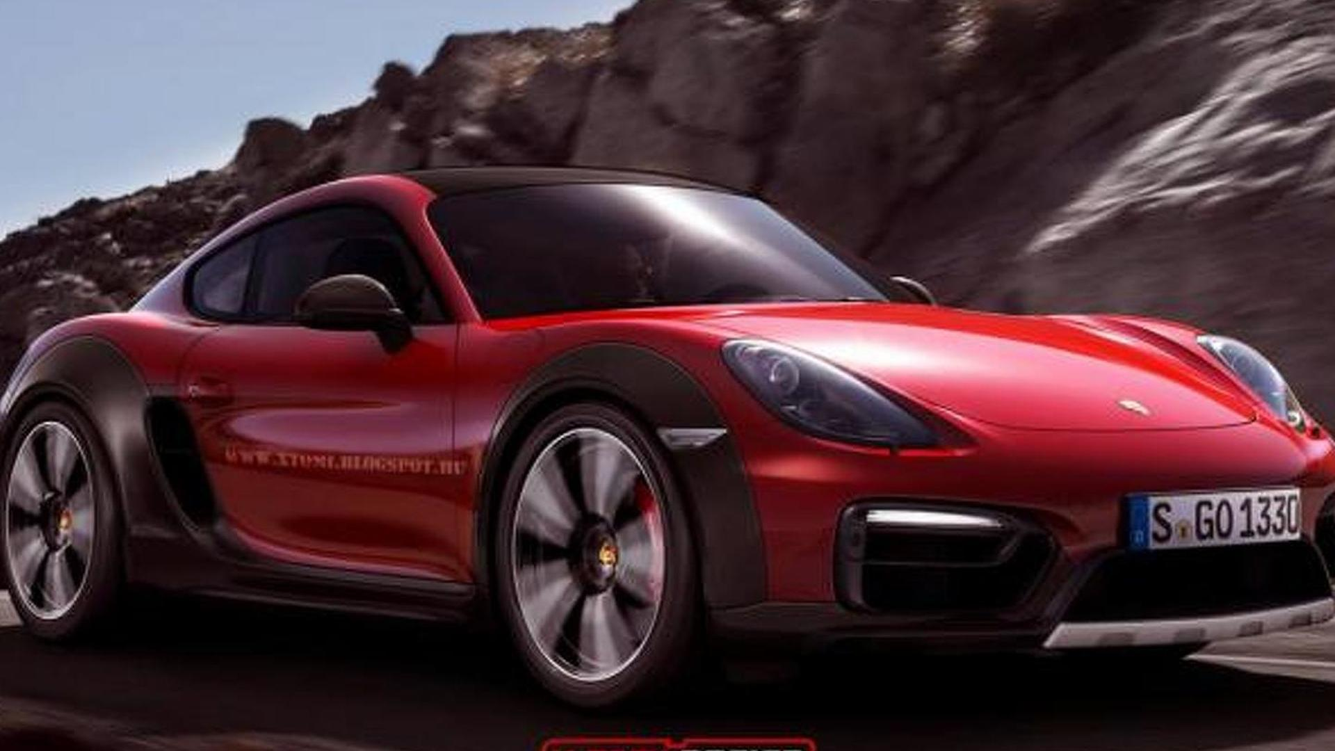 Porsche Cayman Safari render is not a bad idea